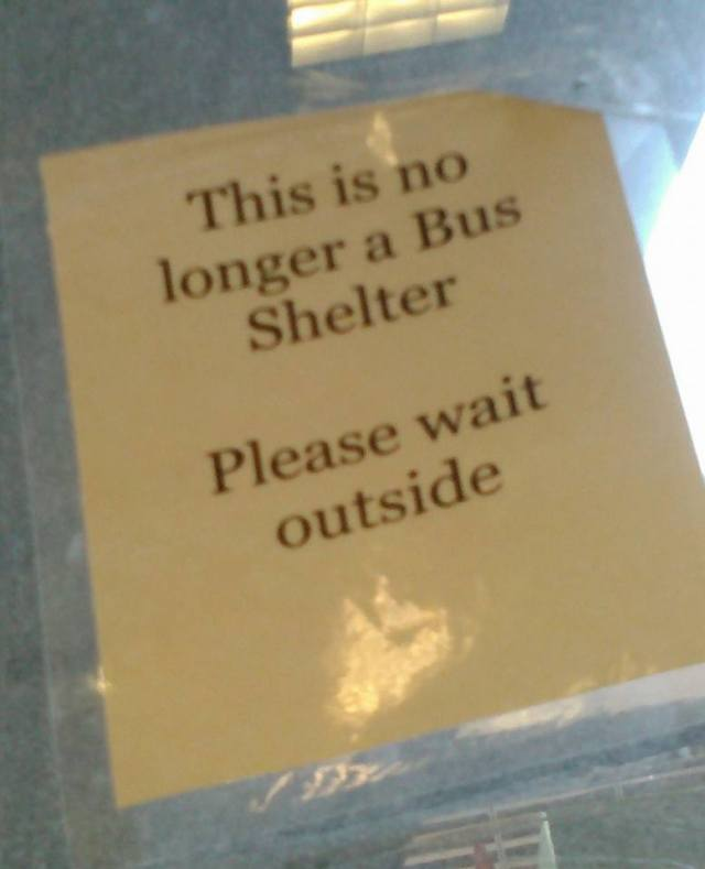 no shelter may 15